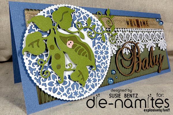 Welcome Baby card  *Die-Namites*