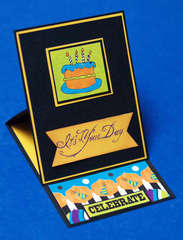 It's Your Day Easel Card with Pocket **Moxxie**