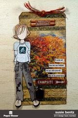 Back to Nature Tag  **Paper House**