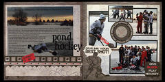 Pond Hockey  **MOXXIE**
