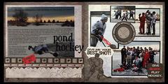 Pond Hockey  **MOXXIE**