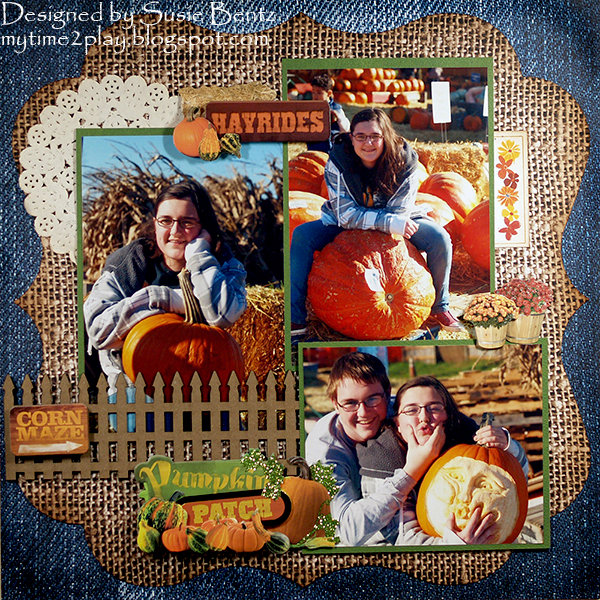 Pumpkin Patch **Paper House**