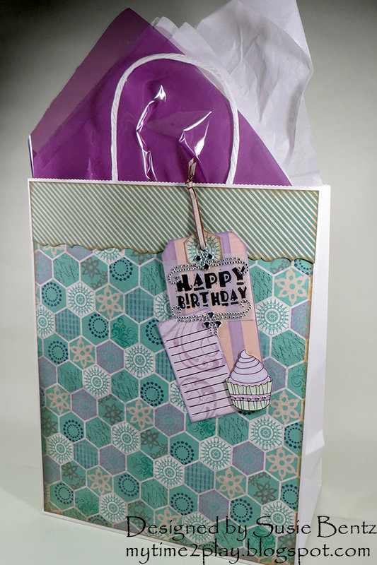 Happy Birthday Gift Bag and Tag **Quick Quotes**