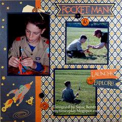 Rocket Man **Moxxie**