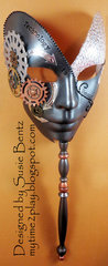 Steampunk Mask - Technology is Beautiful!