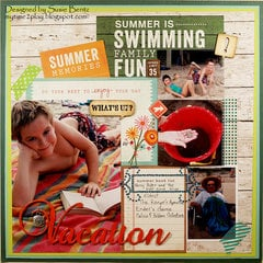 Summer Memories: Vacation  **Want2Scrap**