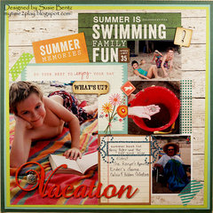 Summer Memories: Vacation  **Want2Scrap**