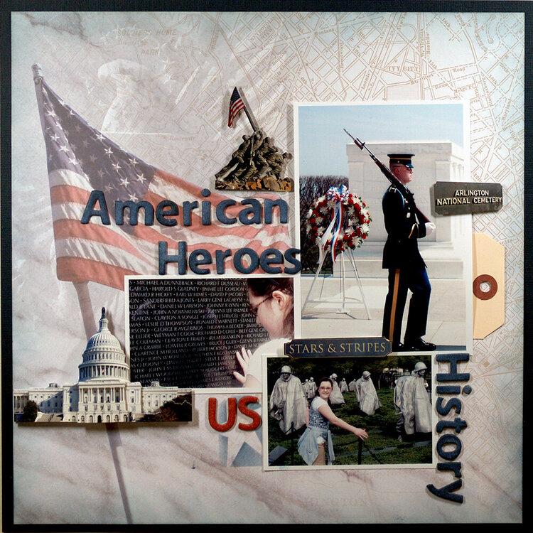 American Heroes  **Paper House**