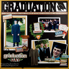 Graduation  **Want2Scrap**Paper House**