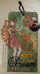 Steampunk Dream tag *Want2Scrap* *Quick Quotes*