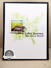 Life's Journey card
