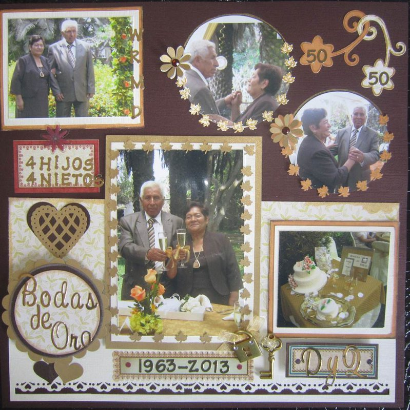 50 Wedding Anniversary