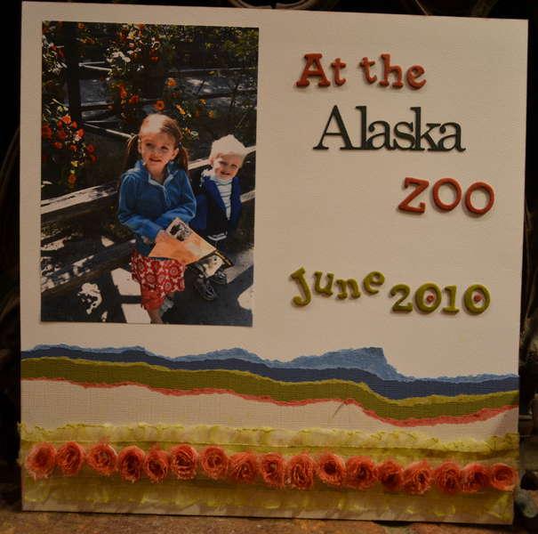 At the Alaska Zoo