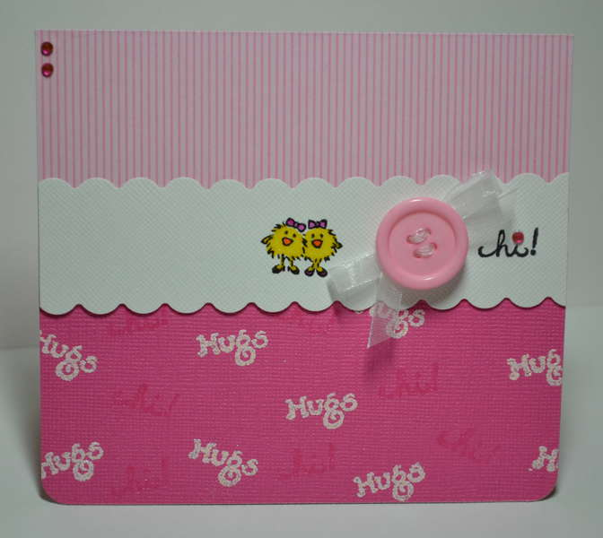 Girlie Girl card