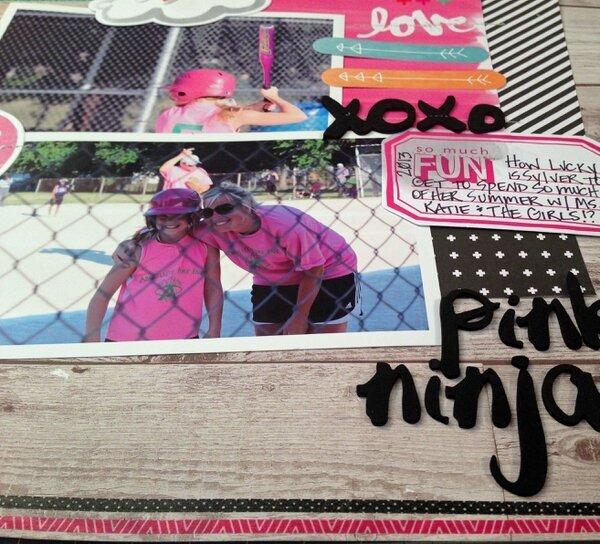 Pink ninja love