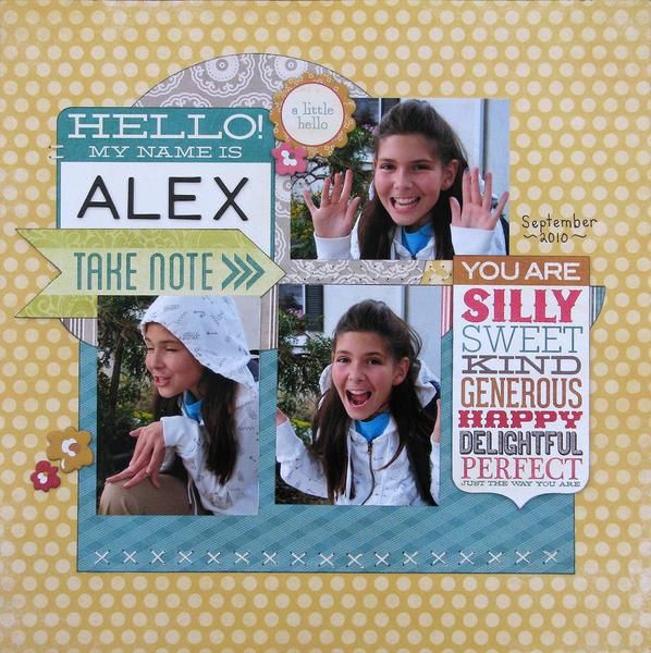 Hello My Name is Alex