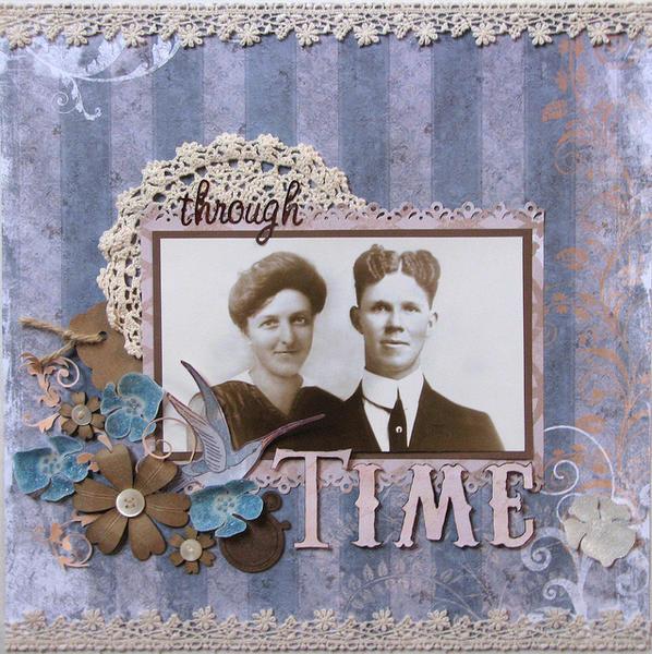 Through Time **Magenta**