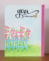 You are Awesome - feminine card