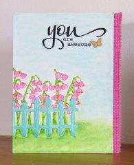 You are Awesome - feminine card