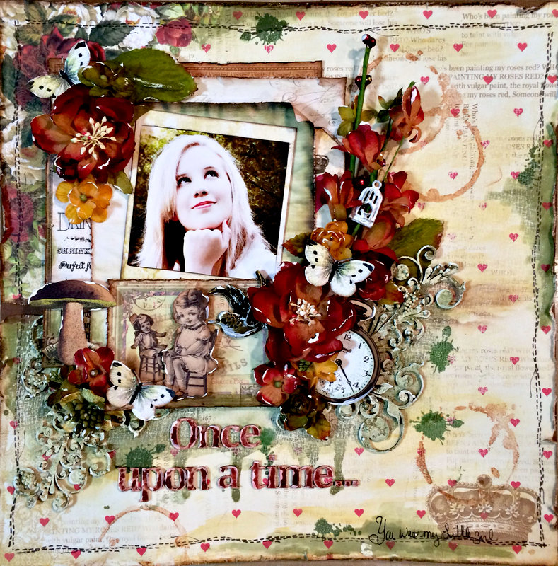 """""""Once Upon a Time"""" **DT work for Creative Embellishments**"""