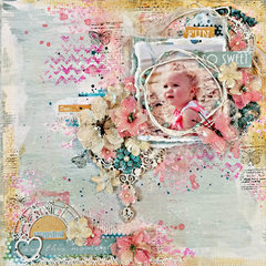 So Sweet  DT work for Creative Embellishments featuring Flying Unicorn Nov KOM