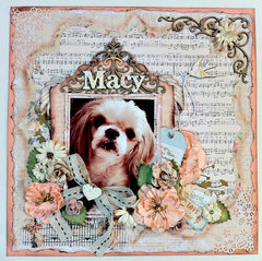 """Macy"" CT work Flying Unicorn Nov KOM ""Heart's Twilight"""