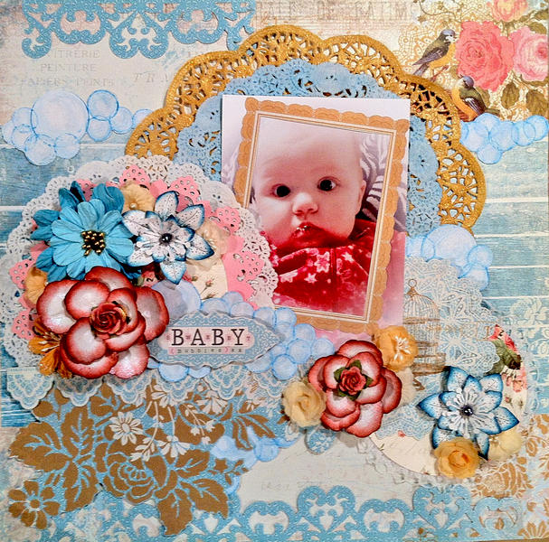 """Sweet Baby Bubbles"" CT work Flying Unicorn Feb KOM"