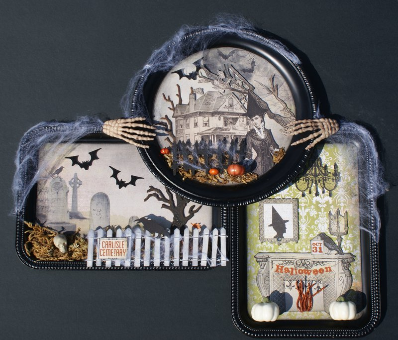 """""""Wicked"""" Halloween Wall Hanging"""