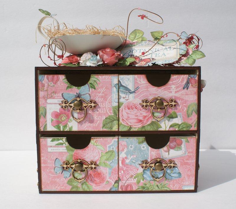 Botanical Tea Altered Storage Unit
