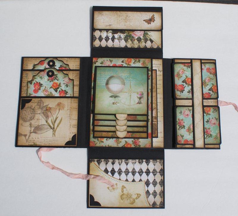 Junque Gypsy Memory Folio