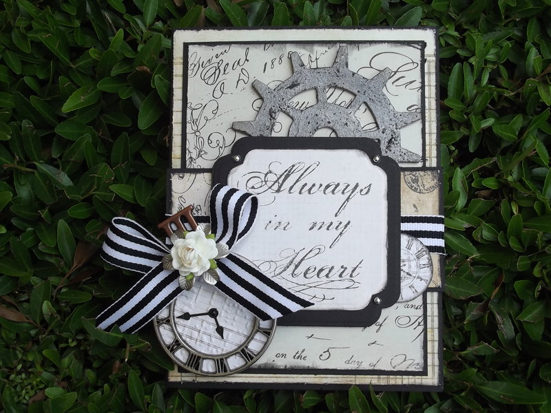 Always in my Heart-Father's Day card