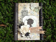 Artsy Birthday card