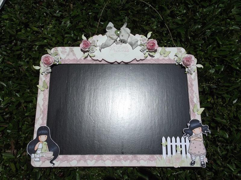Gorjuss Girl Chalkboard