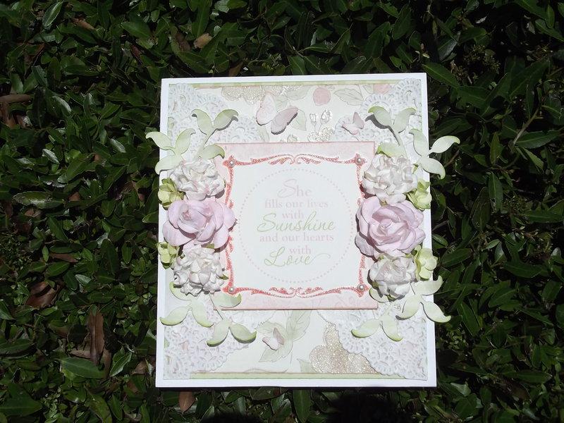 Floral Bithday Card