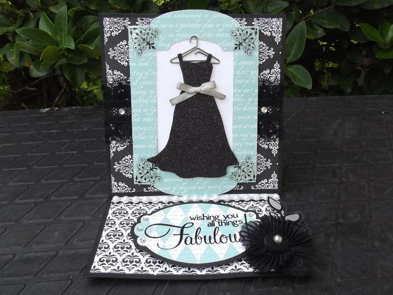 """""""Breakfast at Tiffany's"""" Easel Card"""