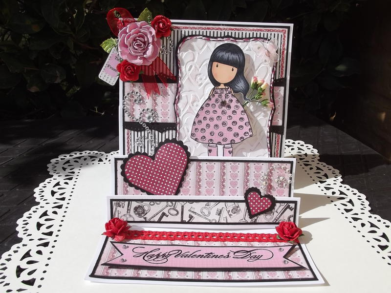 Gorjuss Stair Step Easel Card