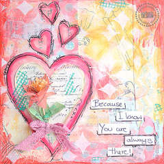 Mixed Media Canvas, designed for Pink Paislee
