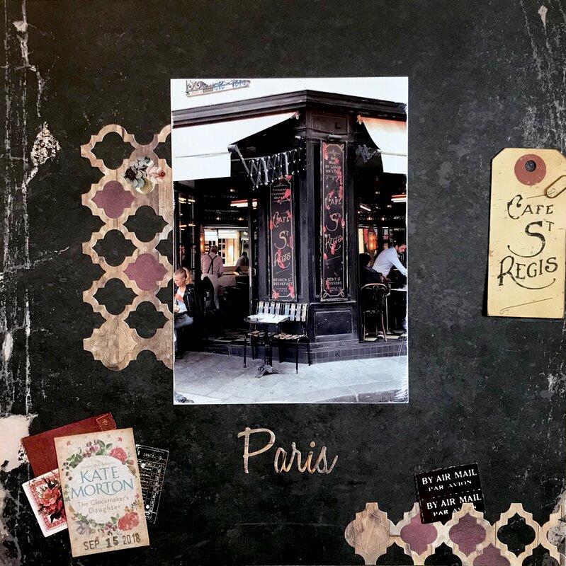 Cafe St. Regis, Paris