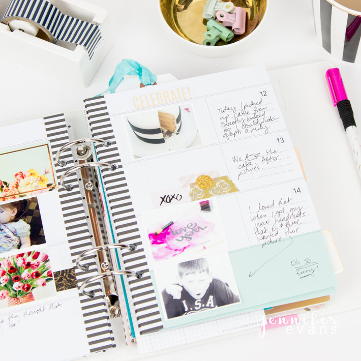 Memory Planner Pages
