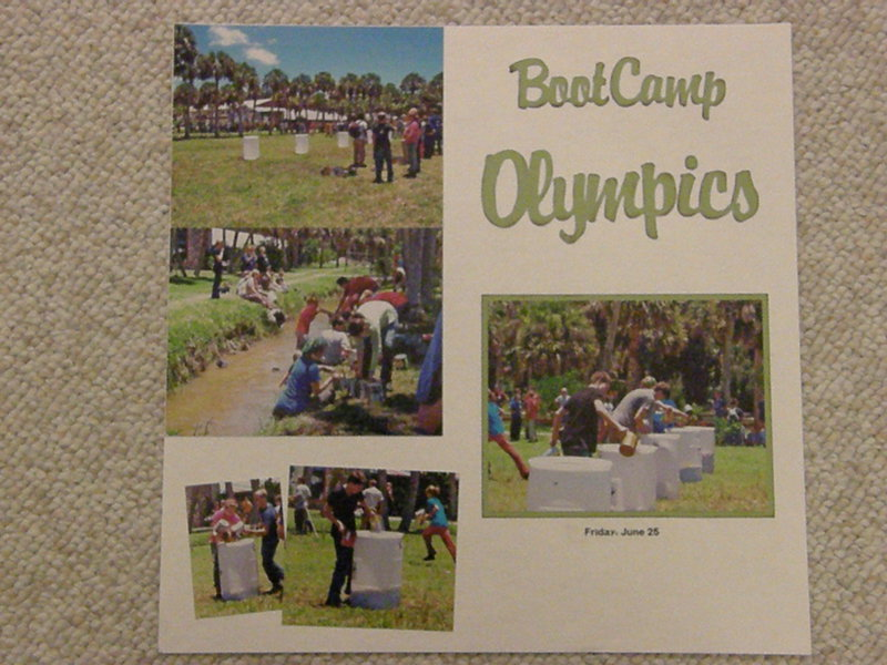 Boot Camp Olympics page 1