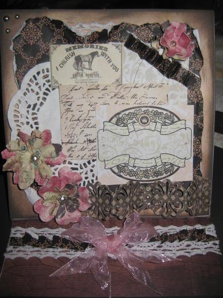 Almanac Card Easel