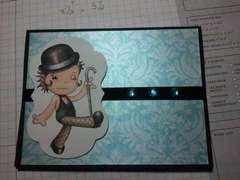 Jazzy Note Card