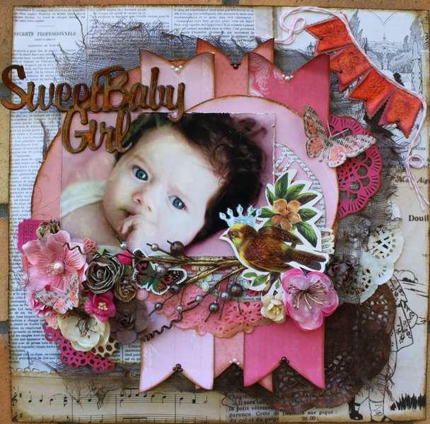 """Sweet Baby Girl """"Pink Challenge"""""""