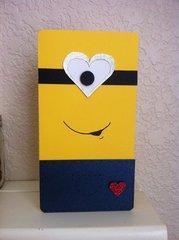 Minion Valentine  Card