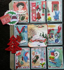 Christmas Pocket Letter made for Trek (Katerina)