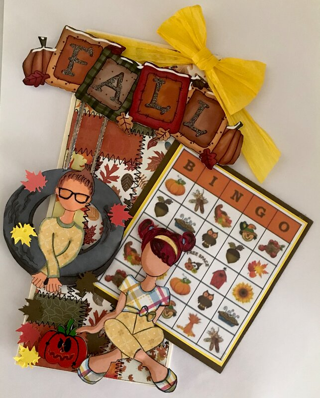 Fall Tag made for a swap