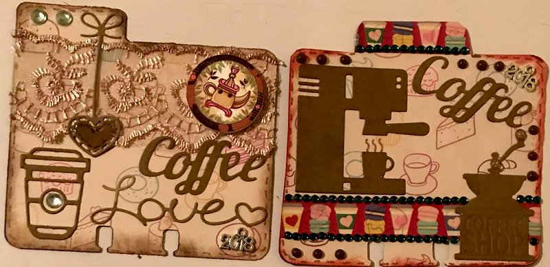 Coffee Rolodex Cards