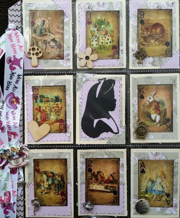 Alice in Wonderland Pocketletter 2