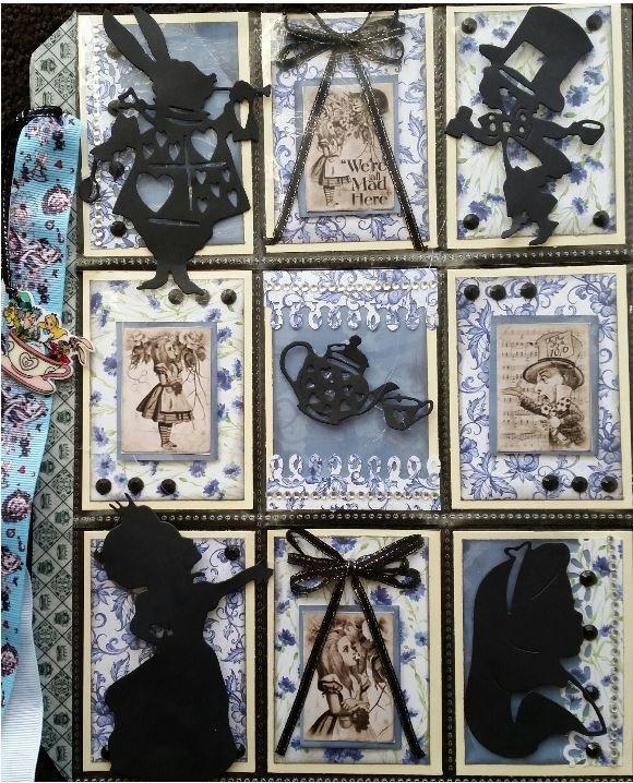 Alice in Wonderland pocketletter 1
