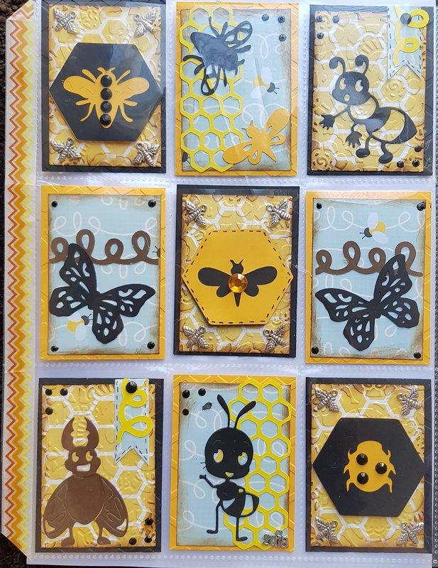 Bees, Bugs and Butterflies pocketletter